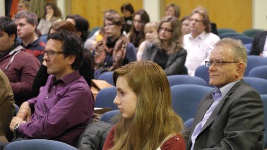 16. Januar 2014. Aufmerksame Zuhörer bei dem Vortragsabend mit dem Zeithistoriker Krisztián Ungvary in der Deutschen Schule.