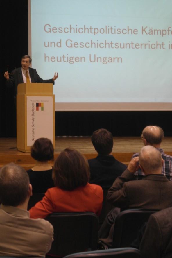Zu Gast beim LC Thomas Mann: der Historiker Prof. Attila Pók, Mitglied der Ungarischen Akademie der Wissenschaften